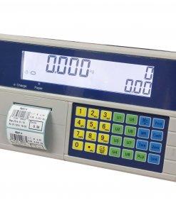 Timbangan HCT pricing computing indicator with label printer