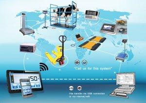 Aplikasi timbangan digital